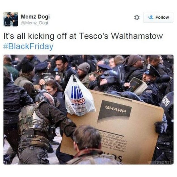 Black Friday at Tesco