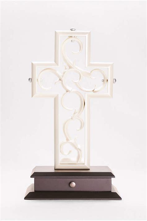 Personalized Script Lace Unity Candle Set   Davids Bridal