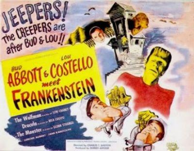 Abbott Costello Frankenstein Dracula Wolf Man