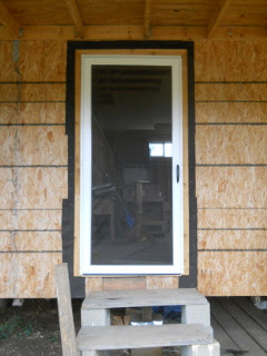 Front Screen Door Installed