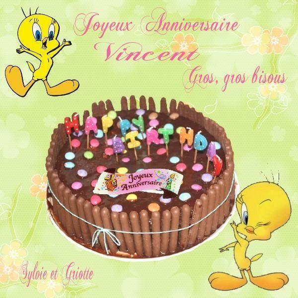 Joyeux Anniversaire Vincent Anniversaire