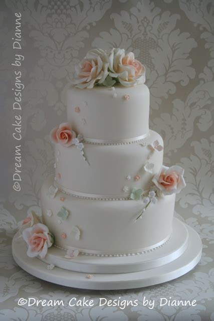 WEDDING Cakes 1,2,3 TIER   Dream Cake Designs by Dianne
