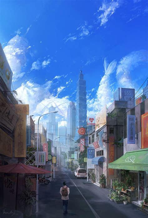 Anime Aesthetic City