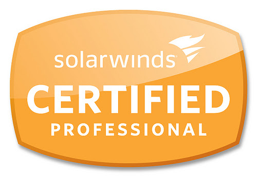 >> SolarWinds Certified Professional