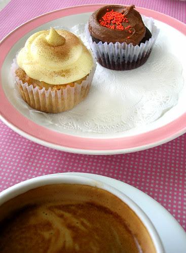 cupcakes by sonja carrot + chocolate cupcakes