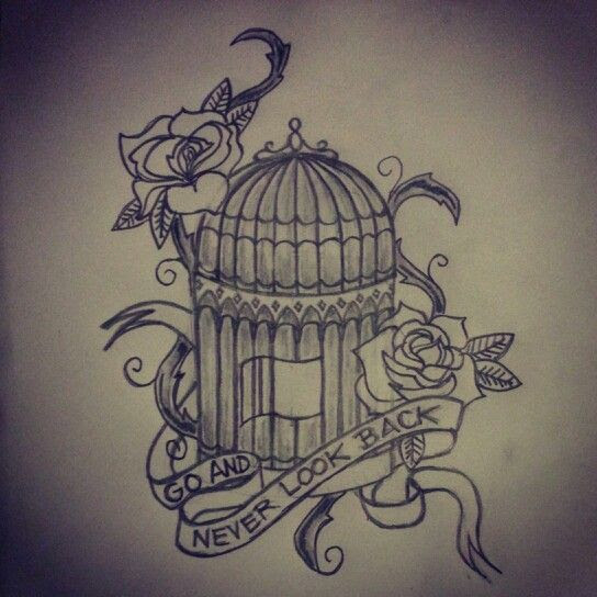 Vintage Bird Cage Tattoo Meaning