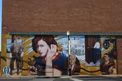 lcc lufkin history mural