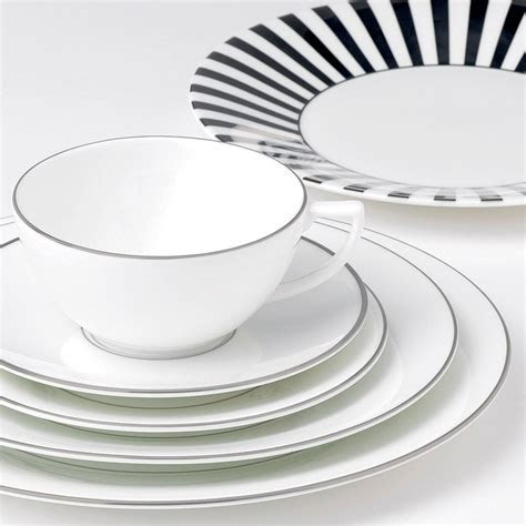Jasper Conran At Wedgwood Platinum Lined 5 Piece Place