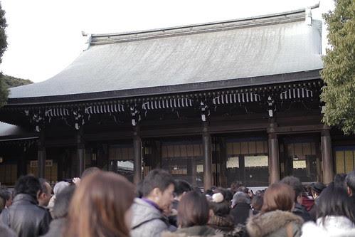 Main shrine building of Meiji Shrine