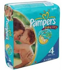 Pampers Pampers Diapers or Easy Ups Jumbo Packs only $5.49 (reg. $9.49) at Rite Aid