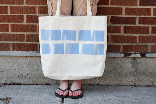 Re-fashioned Tote Bag by jenib320