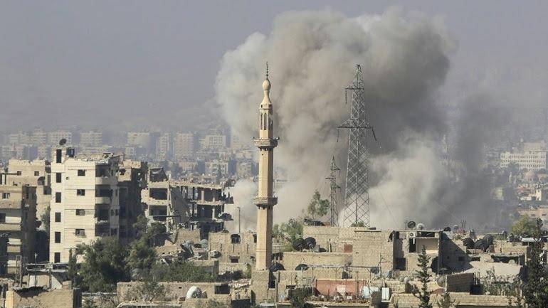 Έκρηξη έξω από αστυνομικό τμήμα στη Δαμασκό