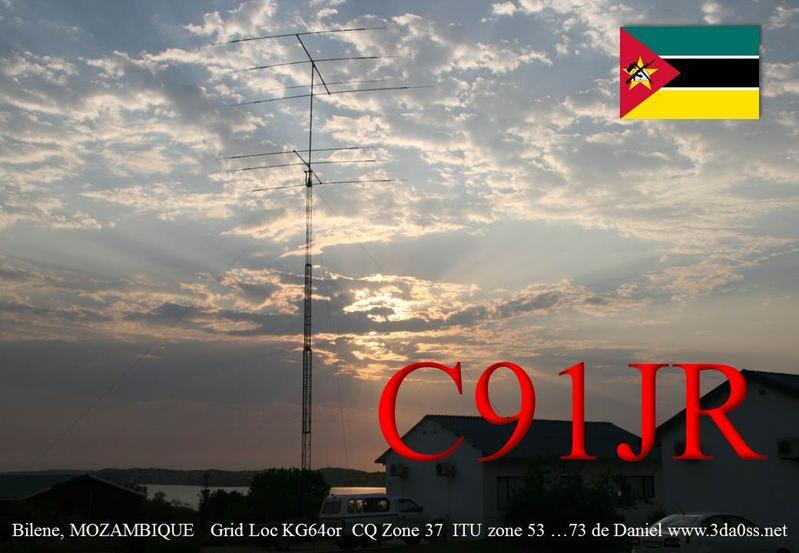 Mozambique C91JR QSL