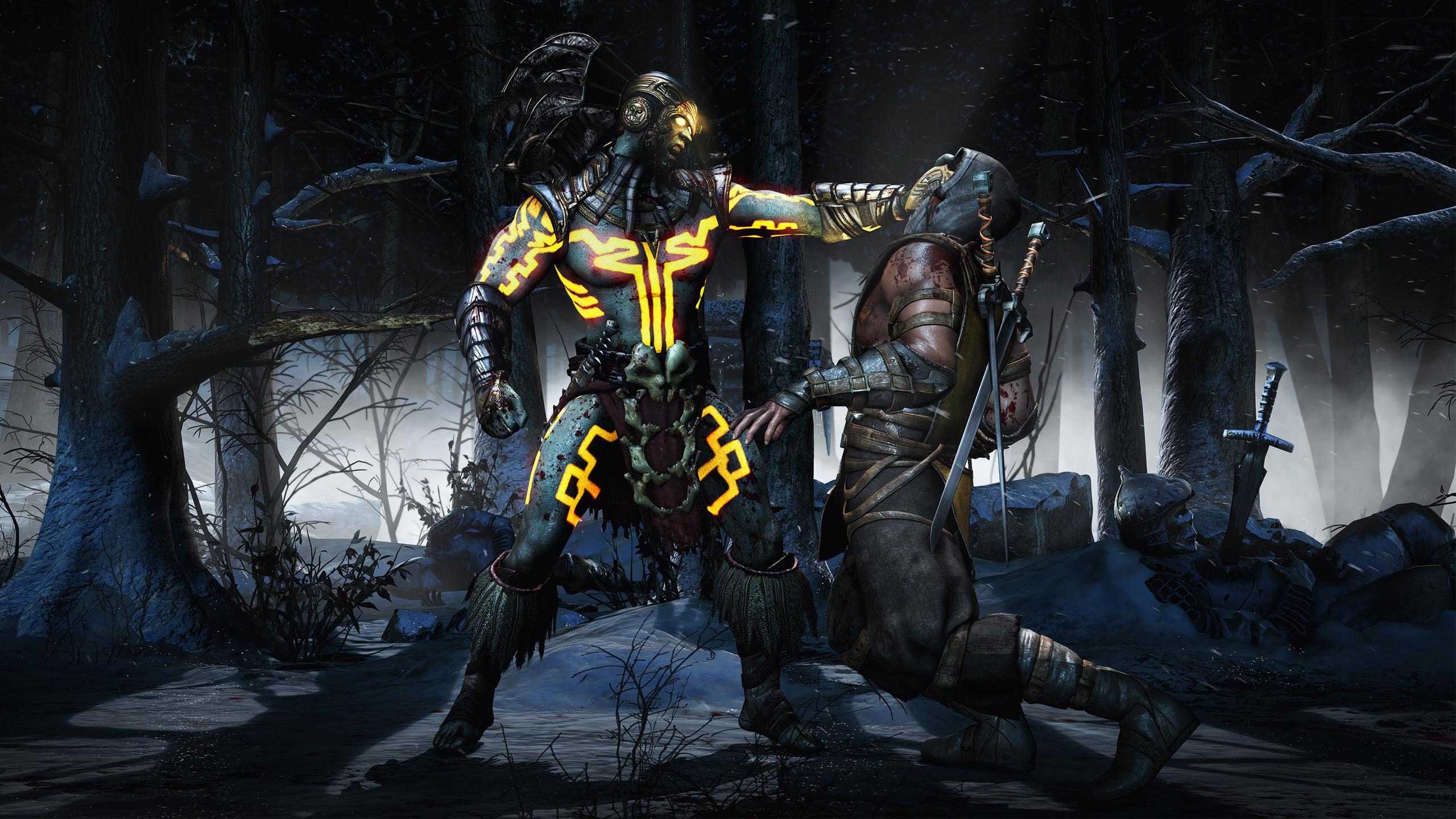 Kotal Scorpion Mortal Kombat X Wallpapers Wallpapers Hd