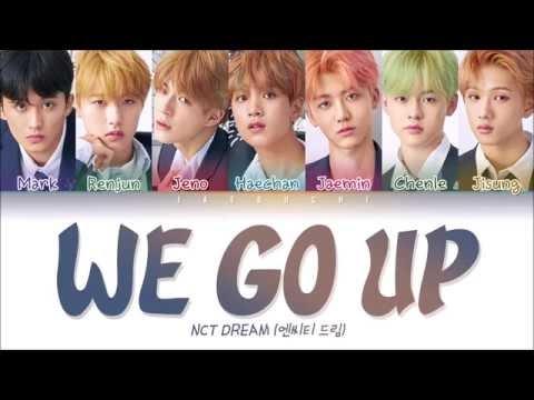 We Go Up Nct Dream Lyrics