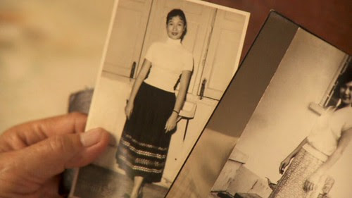Young photos of Aunty Mak Fong in WOMAN ON FIRE LOOKS FOR WATER