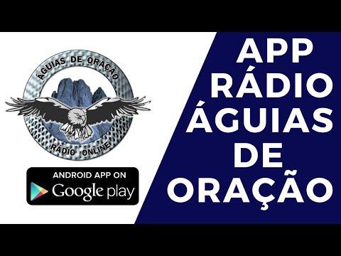 APLICATIVO ANDROID E WEB APP DA RÁDIO ÁGUIAS DE ORAÇÃO - GRATIS.