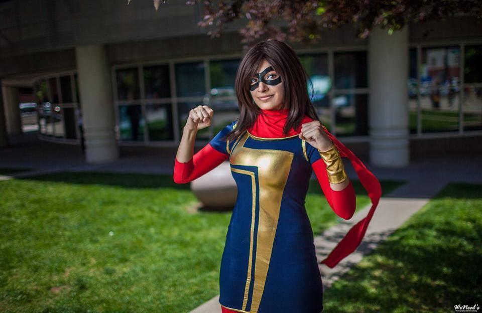 Kamala KhanMs. MarvelbyMeevers Desu Cosplay Photo byWeNeals Photography and Retouching viatimetravelandrocketpoweredapes
