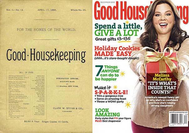 Γυναικεία περιοδικά τότε και τώρα (3)