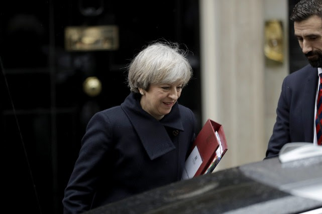 Theresa May... (Photo Matt Dunham, Associated Press)