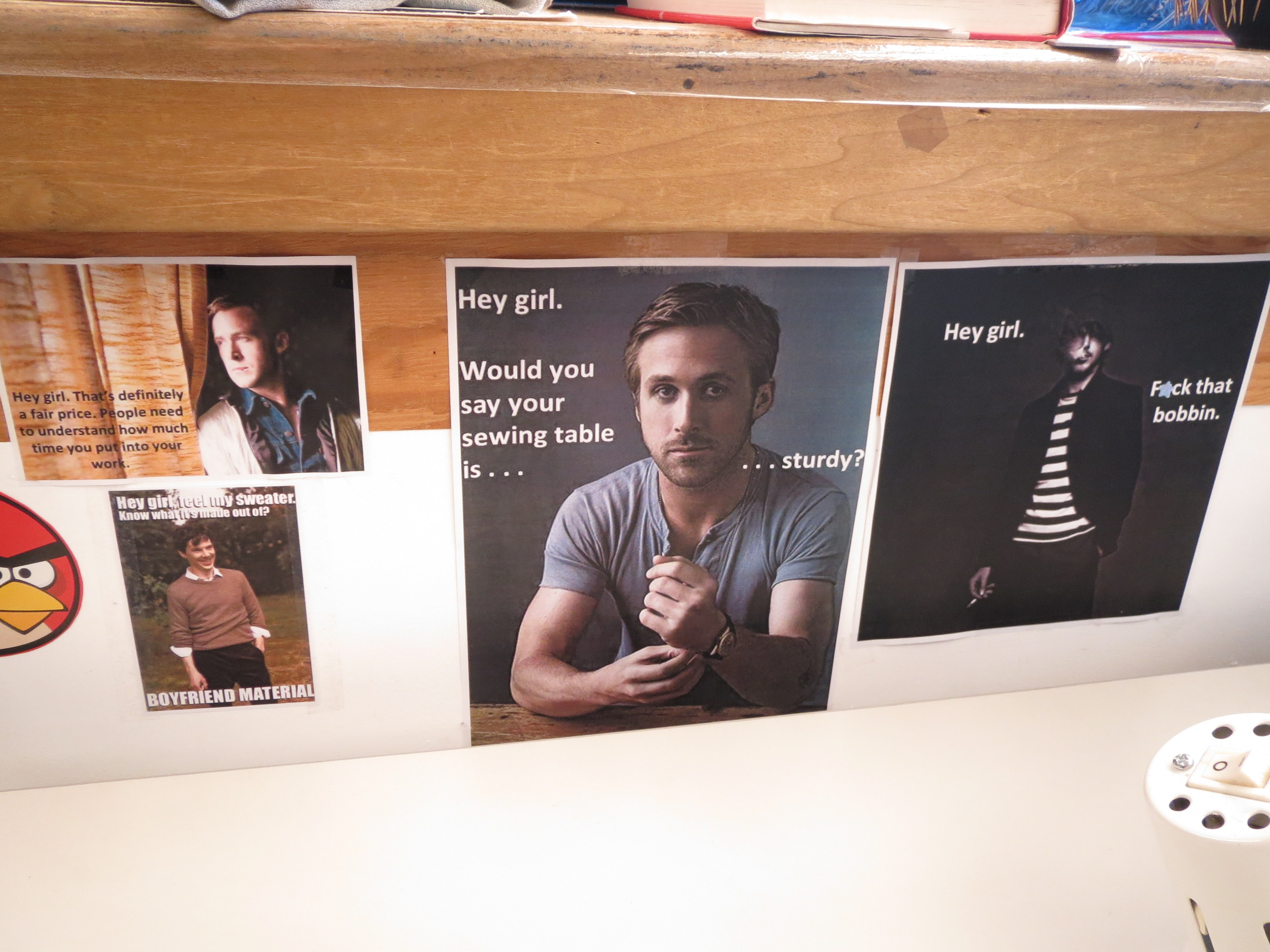 Crafty Ryan Gosling