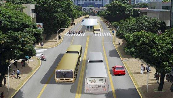 Estação do BRT Avenida Conde da Boa Vista - Secretaria de Mobilidade do Recife/Divulgação