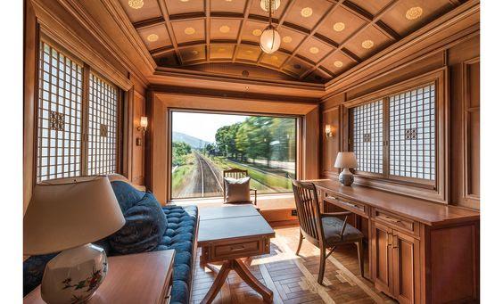 luxury train interiors 1
