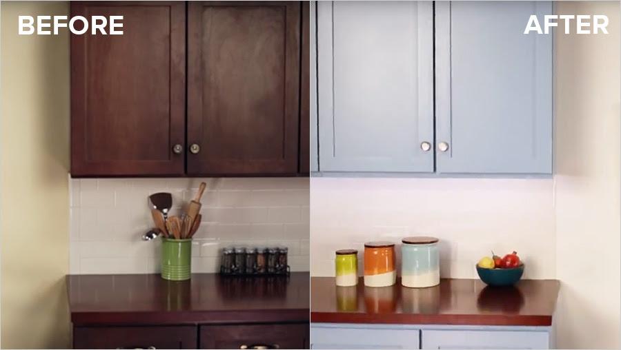 Refinish Kitchen Cabinets with KILZ Max® Primer