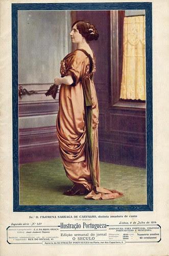 Ilustração Portugueza, No. 437, July 6 1914 - cover