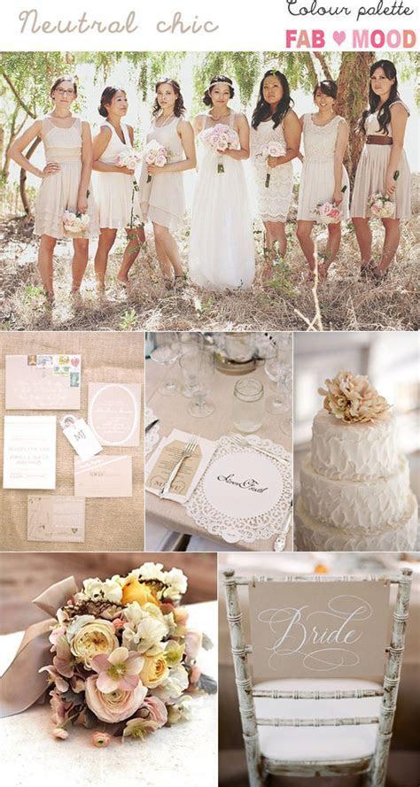 Neutral Wedding Colours Palette, neutral wedding color ideas
