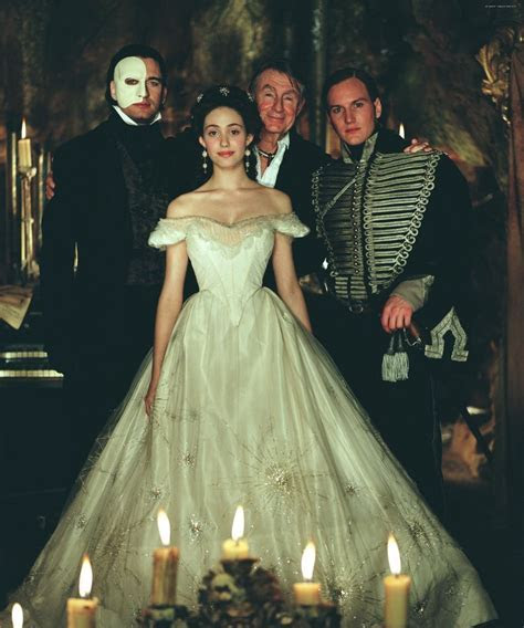 ALW's Phantom of the Opera movie images Behind The Scenes