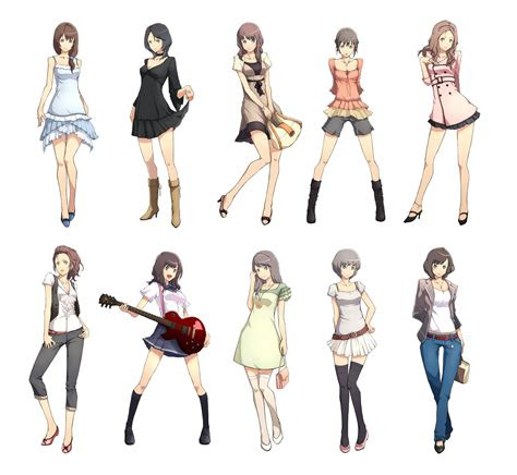 cute anime outfits  draw easy  draw manga