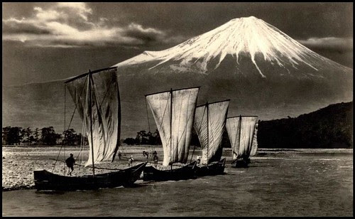SAILING INTO FUJI by Okinawa Soba