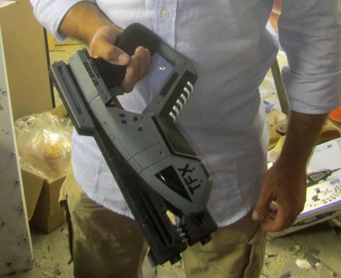 Predator Pistol Closed
