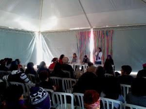 Debate sobre a mercantilização e medicalização - Foto: Elaine Campos