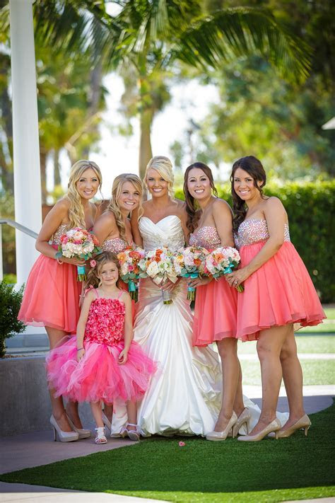 Share your Coral and Tiffany Blue Weddings ! (Or Similar