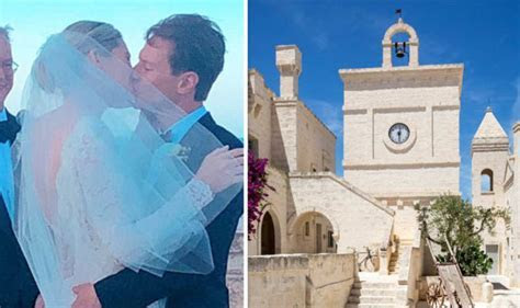Princess Beatrice's ex marries in luxury Italian beach