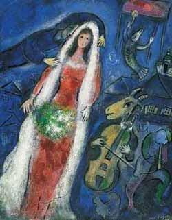 Marc Chagall: Mariee