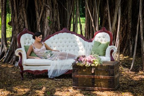 Vintage Spring Styled Shoot in Miami, Florida by Robert