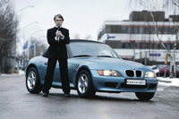 Bmw Z3 In James Bond