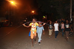 Marriamman Feast Procession From The Mahim Beach to the Temple by firoze shakir photographerno1