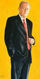 Jean Chretien, Prime Minister, Canada, Official Portrait, Freemasons, Freemasonry, Freemason