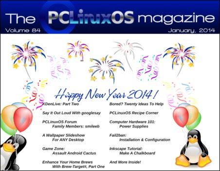 Περιοδικό PCLinuxOS Ιανουάριος 2014