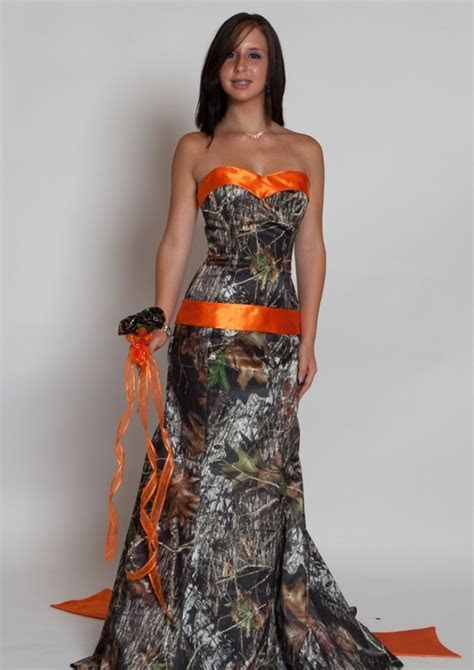 Camo Bridesmaid Dresses   DressedUpGirl.com