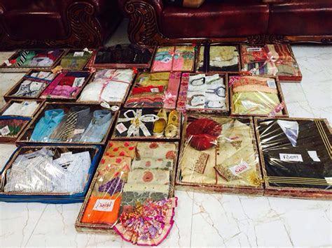 Wedding dala/ gift baskets   Wedding   Trousseau packing