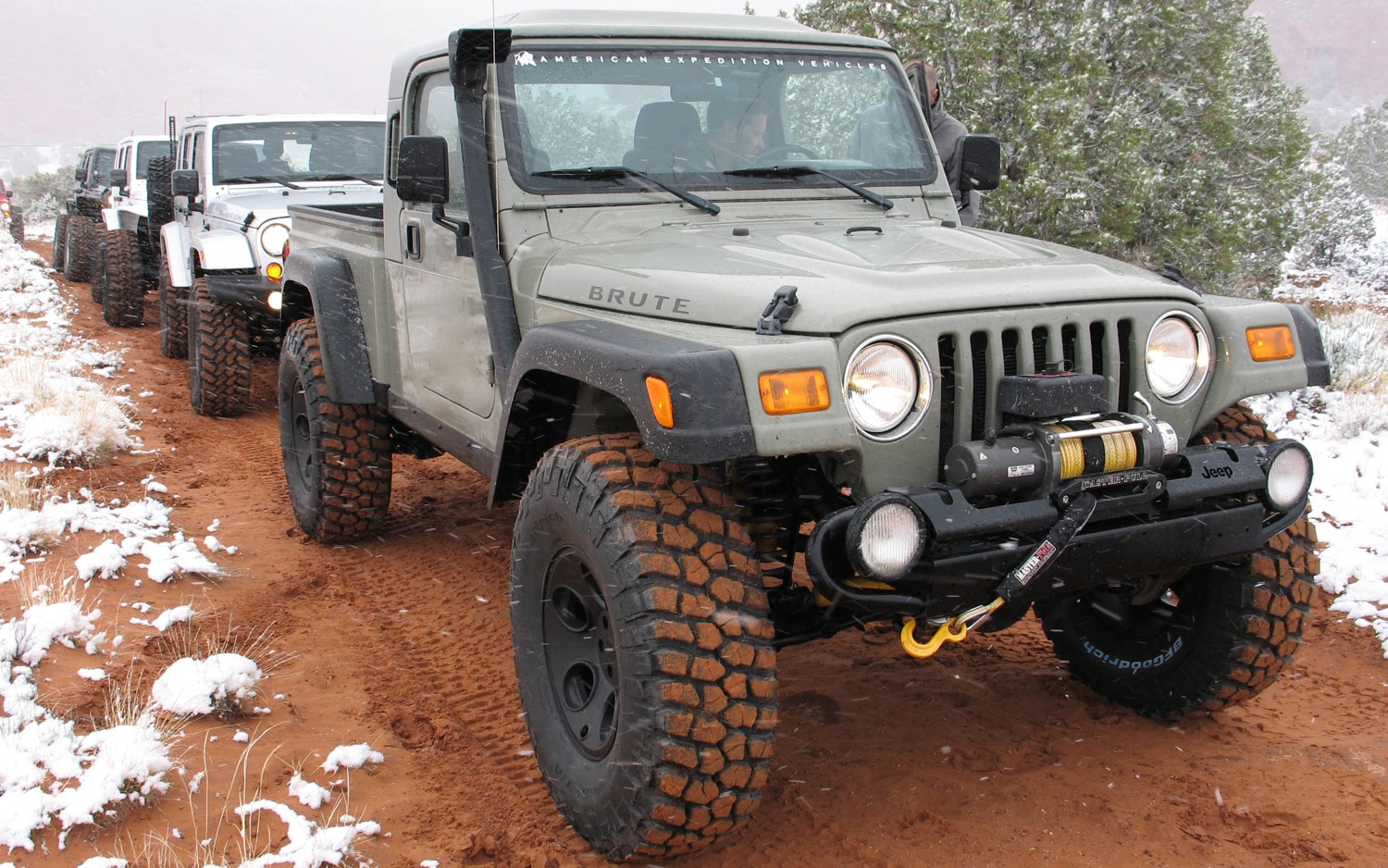 2012 aev jeep brute double cab hemi  first drive  truck