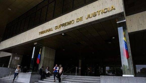 Tribunal Supremo de Justicia de Venezuela. Foto: EFE.