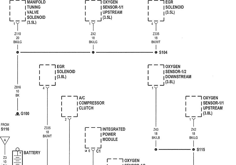 2007 Chrysler Pacifica Amp Wiring Diagram