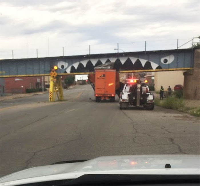 Truck-Eating Bridge In My Hometown Claims Yet Another Victim