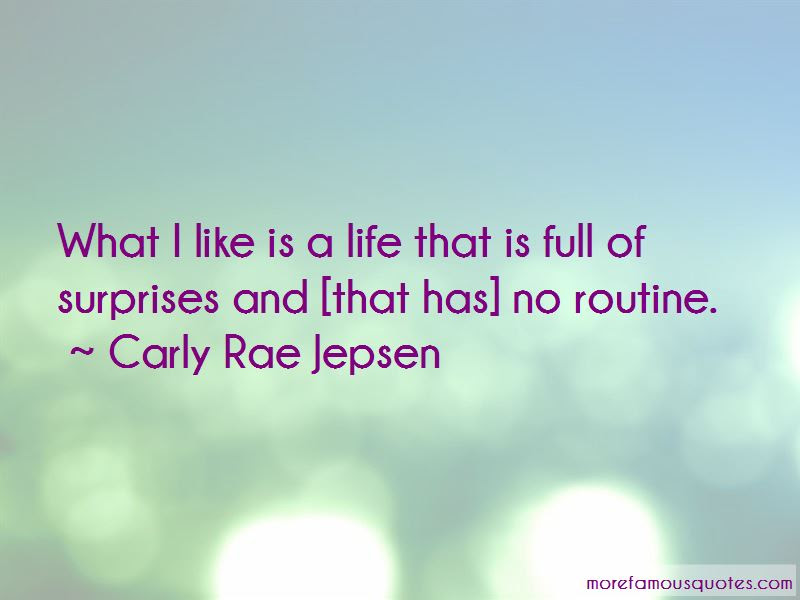 Life Is Just Full Of Surprises Quotes Top 30 Quotes About Life Is